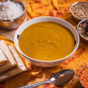 מרק עדשים הודי – Indian lentils soup
